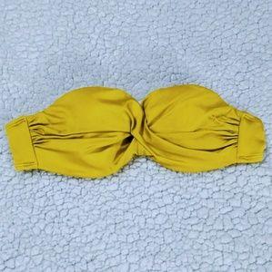 Victoria Secret Strapless Bikini Top 34A